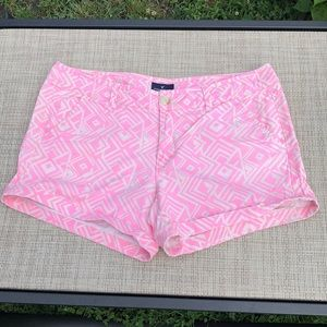 AE stretch midi sz 12 geometric shorts